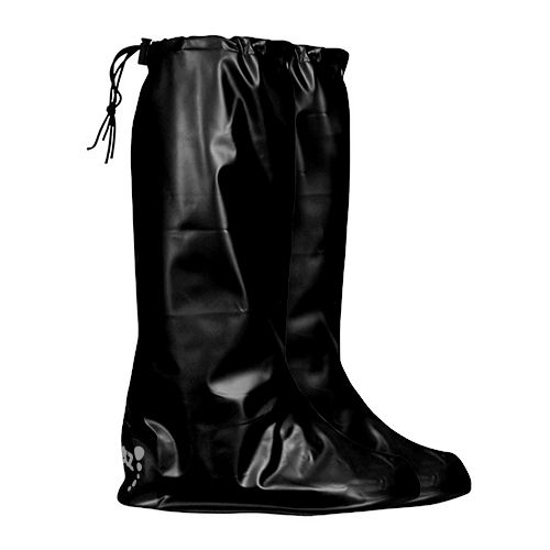 Black Pocket Wellies