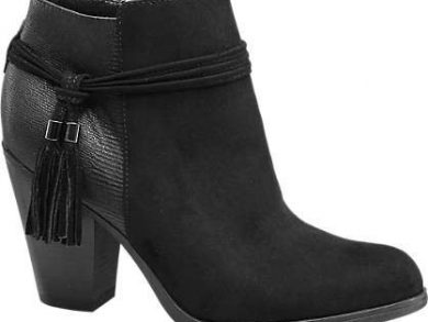 graceland-black-tassel-trim-ankle-boots