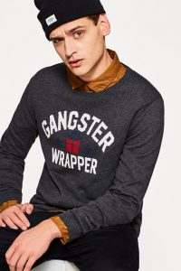 Gangster Wrapper Xmas Jumper