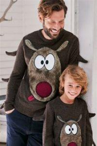 Next Reindeer Jumper