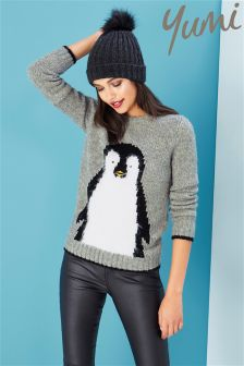 Yumi Penguin Jumper
