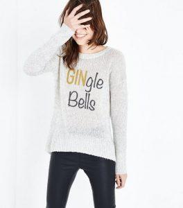 Gingle  bells glitter Christmas Jumper